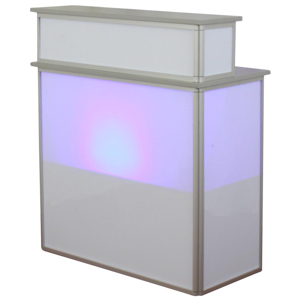 Falttheke-LED-blau