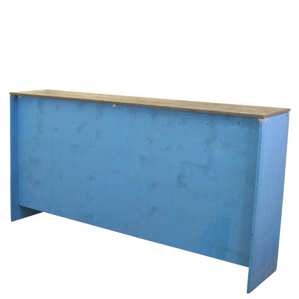 Klappbar-blau